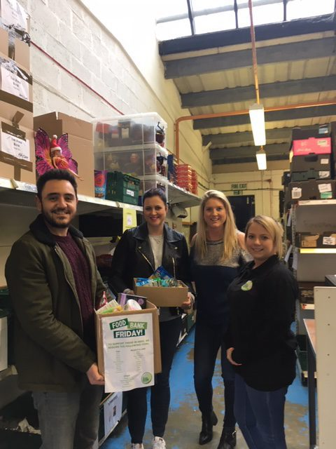 The Food Bank February at Xen..
