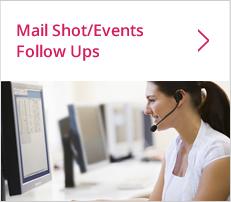 Mailshot, Event Invite & Follow Up